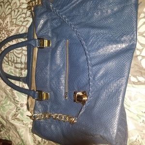 Lovely blue Steve Madden purse/  wallet set